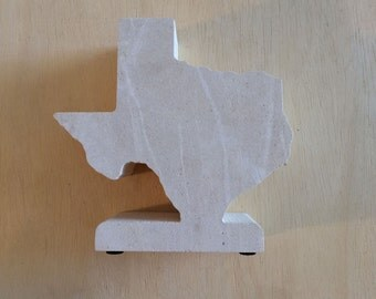Standing Limestone Texas - 6 inches - Texas Hill Country Limestone - Free Shipping