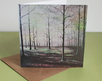 Escapism - Fine Art card - Trees - Woodland