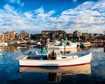 Rockport Harbor Morning