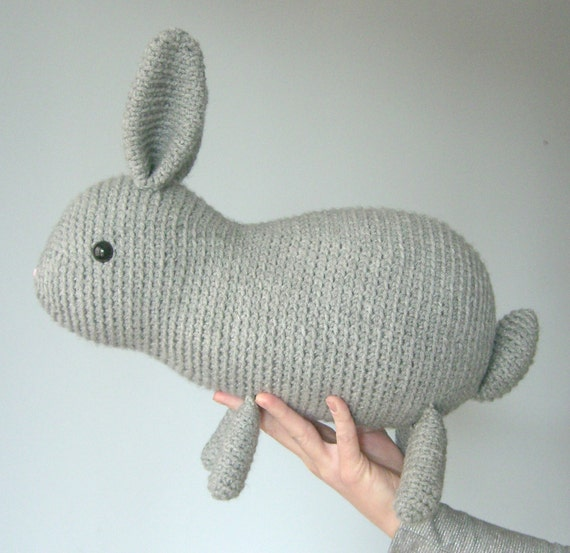 Large amigurumi rabbit pattern - bunny amigurumi, large ...