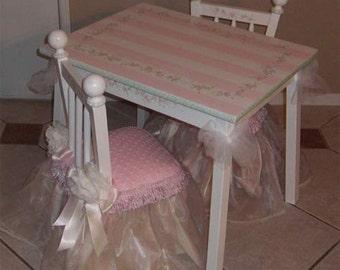 Princess Table and Chair Set