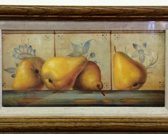 Pear Oilograph  Painting