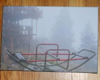 Foggy: Photo on Canvas