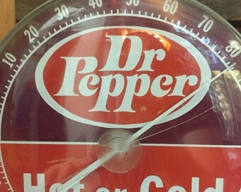 Dr Pepper Advertising Thermometer
