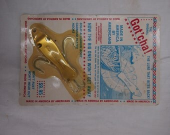 Vintage Original Got'cha Fishing Lure