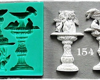 Silicone Mould.... Antique Fountains