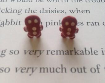 Sweet Treats-Gingerbread Earrings