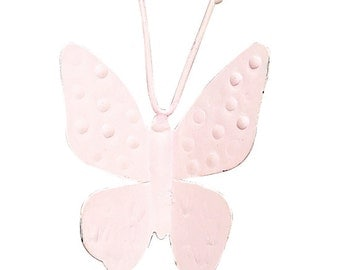 Light Pink Butterfly Magnets SET OF THREE MG2200