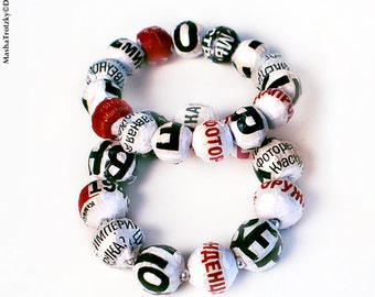 bracelet from NewsPaperWork jewellery collection