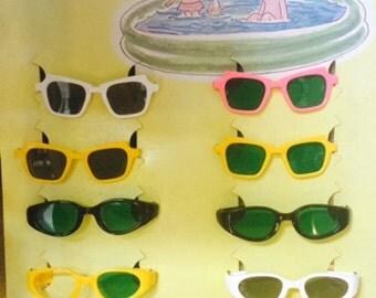 Vintage SOLAREX Kids Sunglass Display