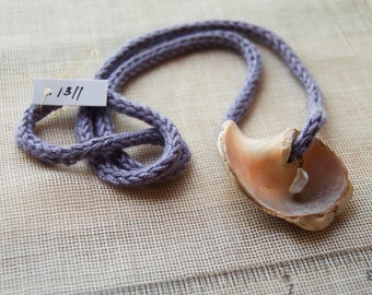 1311 Shell Necklace w/ Pearl