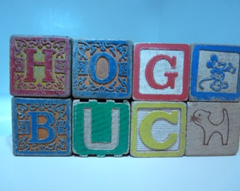 Childrens Alphabet Blocks