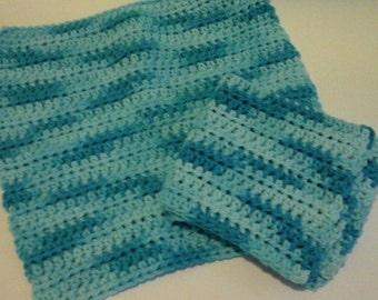 Custom Crochet Washcloths