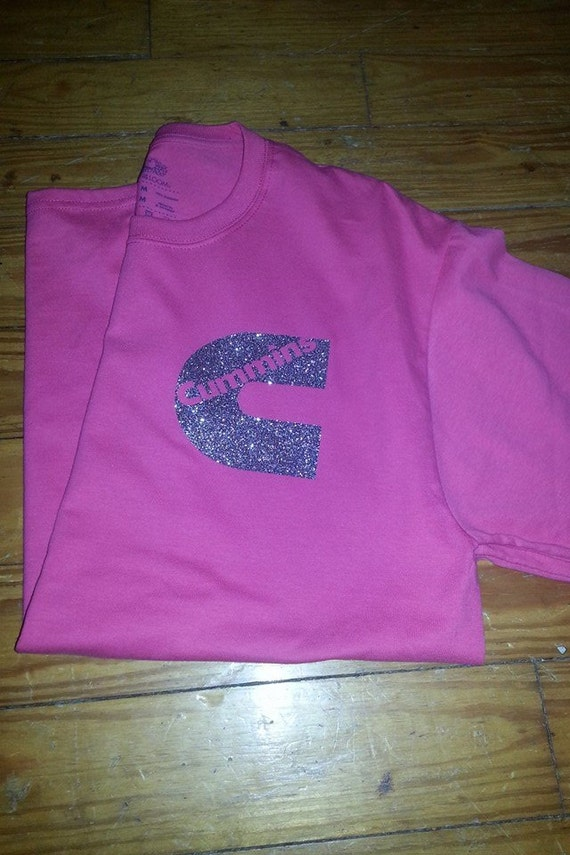 Glitter cummins t shirt heat press vinyl for Heat pressed t shirts