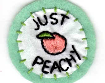 Just Peachy Patch
