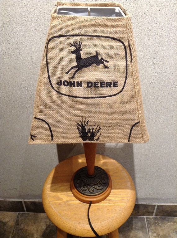 Green John Deere Lamp Shade : John deere lamp shade by conservativesexy on etsy