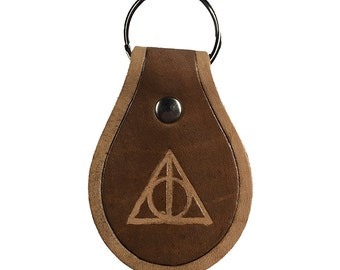 Deathly Hallows Geek Key Chain