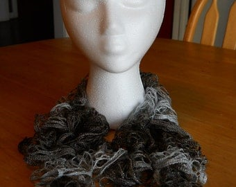 Shimmering Ruffle Scarf