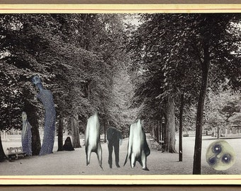 """surreal collage """" Find 3 errors..."""""""
