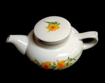 Lovely Little Yellow Lily Teapot