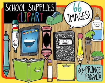 Back-to-School / School Supplies Clip Art