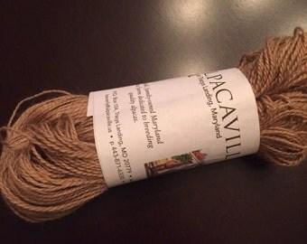 Alpaca yarn - 100% all from my alpacas here at Alpacaville