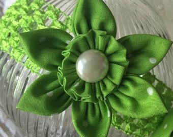 Green Girls Headband