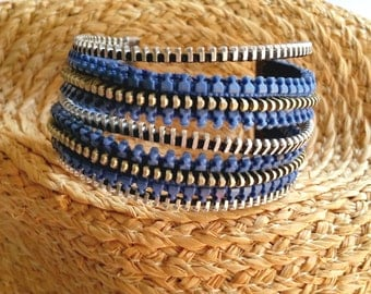 BLUECREM zipper bracelet