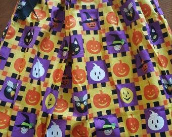 Halloween Pumpkin Pillowcase Dress girls size 5/6