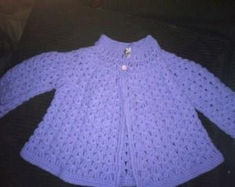 Purple Sweater (2t-4t)
