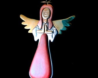 Pink Angel TreeJewels™ Ornament