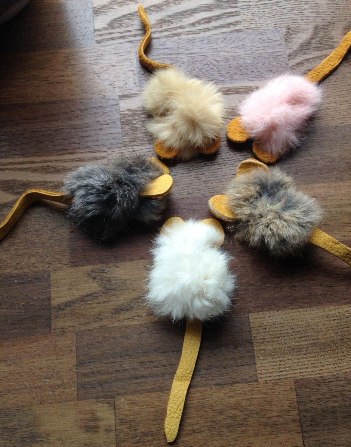 Make Your Own Cat Toys With Rabbit Fur