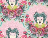 Tula Pink Elizabeth - Tart 16th Century Selfie - Free Spirit cotton quilt fabric - fat quarter