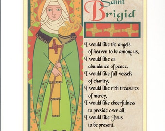 Saint Brigid Print