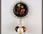 """Jasmine Becket Griffith  """" I'm Almost With You """"  necklace"""