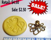 ON SALE - Octopus  -  Flexible Push Mold -  Food Safe Silicone  I115