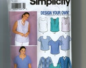 Simplicity Women's Design Your Own Blouse Pattern 9585
