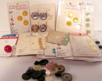 Vintage Button Bundle
