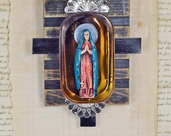 Mixed Media - Our Lady de Guadalupe