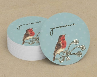 Custom Stickers  Custom Logo Stickers  Personalized Stickers  Product Labels  Adhesive Labels  Return Address Labels  Vintage Bird 10