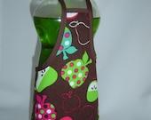 Funky Apple Pear Dish Detergent Soap Bottle Dress Cover Staffer Party Favor L