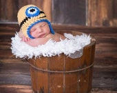 Clearance Minion Hat and Diaper Cover Newborn Baby Photo Prop First Photo Shoot Photography Baby Boy