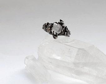 Tjärn // Silver Ring (Raw Quartz)