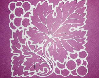 Grapes Cut Out svg cricut file
