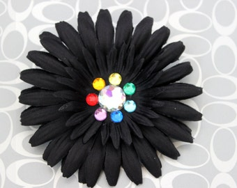 Clearance Black Rainbow Hair Clip