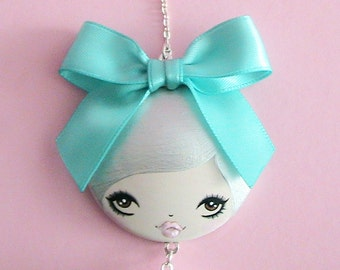 Tiffany Doll Face Necklace