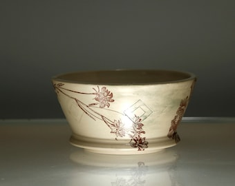 Flower Bowl - Small Dessert Bowl - Dishes Dining Entertainment - NLB
