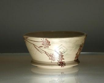 Flower Bowl - Small Dessert Bowl - Dishes Dining Entertainment - NLB