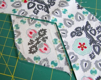 "Small Fussy Cutting Templates - You pick shape, 1"" or less"
