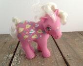 My Little Pony MLP G1 Pink Bonnie Bonnets 1983 Hasbro